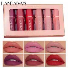 6pcs/set velvet matte lipstick
