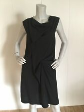 CACHAREL Women's Black Drape Neck Dress Size IT 42/ USA 8
