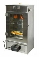 New Electric Grill Smoker Stainless Steel by outdoorcook.co.uk BBQ