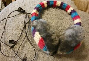 Ear Muffs With Built In On Ear Headphones