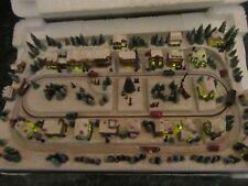 2008 Thomas Kinkade Hawthorne Village Miniature Main Street Xmas Numbered Coa