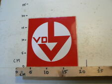STICKER,DECAL VD LOGO ? ARROW PIJL LARGE STICKER 18 CM