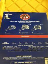 SAF-735 STP Air Filter  A735C  CA-3537 AFL-735 AF-3138  42039  Buick Chevy
