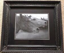 Horses Framed Print Brothers By Tony Stromberg
