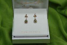 Irish Jewellery Maureen O'Hara Rose Gold Trinity Knot Earrings Quiet Man