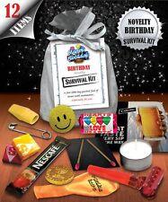 Novelty Birthday Survival Kit - Fun Novelty Gift