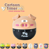 Kitchen Timer Alarm Digital Mechanical Novelty Countdown Cartoon Egg Loud S
