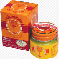 GOLDEN CUP THAI BALM HERBAL THERAPY HEADACHE RELIEF ACHES PAIN INSECT BITE 12 G.