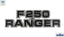 1977 - 1979 F250 RANGER COWL SIDE NAME PLATE FORD OFFICIAL LICENSED PRODUCT