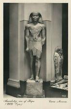 AMENHOTEP STATUE, CAIRO MUSEUM EGYPT RPPC POSTCARD SON OF HAPU