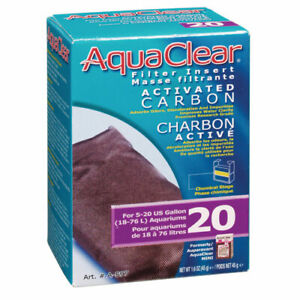 RA Activated Carbon Filter Insert for AquaClear 20/Mini - 1 pk