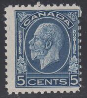 "Canada #199 5¢ King George V ""Medallion"" Mint Never Hinged - C"