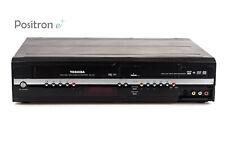 Toshiba rd-xv47 VHS DVD HDD RECORDER/USURA/aspettato 1 anno di garanzia