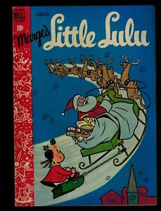 DELL COMICS MARGE'S LITTLE LULU  VOL1 #7 JAN 1949 CHRISTMAS ISSUE VF/NM 9.0 HG