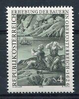 AUTRICHE 1976, timbre 1343, Anniversaire REVOLTE PAYSANS, GRAVURE, neuf**