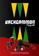 Magriel Backgammon (Deutsche Ausgabe) 2013 SIGNED Hardcover in German