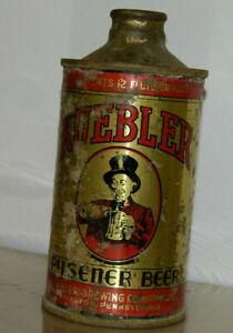 Vintage Kuebler Pilsner Beer Cone Top Can Bottle Shape 12 OZ IRTP