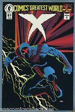 Comic's Greatest World X 1993 Week 1 Lee Weeks Frank Miller Dark Horse Comics