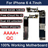 Unlocked Mainboard For i Phone 6 16GB 64GB 128GB Motherboard Working Logic Board