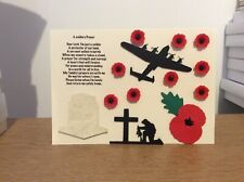 Remembrance Card / Armastice Card.