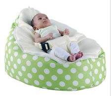 Inexpensive Zipper Baby Bean Bag Soft Sleeping Bed Portable Seat Without Filling
