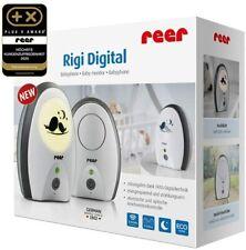 reer 50070 Babyphone Rigi Digital strahlungsarm, Nachtlicht, Gegensprechfunktion