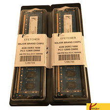 8GB (2 x 4GB)DDR3 1600 PC3 12800 240 Pin 1.5V CL11 Non ECC UDIMM For Desktop