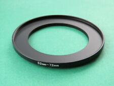 52mm-72mm Stepping Step Up Male-Female Lens Filter Ring Adapter 52mm-72mm