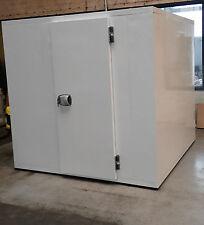Kühlzelle Kühlhaus Kühlraum mit Kühlaggregat mit Edelstahlboden 120x90x200 cm