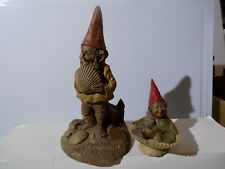 1984 Cairn Pawley the Beach Seashell Gnome #1047 & Bubbles