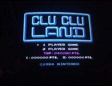 Nintendo Playchoice 10 Clu Clu Land Cart Pc-10