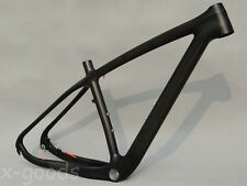 "29er Toray Carbon Mountain Bicycle MTB Full Carbon UD Matt Bike Frame 15.5"" BSA"