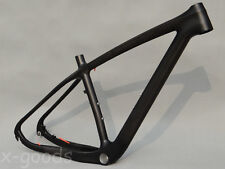"29er Toray Carbon Mountain Bicycle MTB Full Carbon UD Matt Bike Frame 19"" BSA"