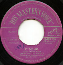 Rare Rock & Roll 45- Danny & The Juniors - At The Hop - His Master's Voice #436