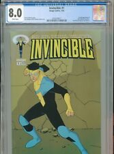 2003 IMAGE INVINCIBLE #1 1ST FULL APPEARANCE INVINCIBLE TONY MOORE CGC 9.8 BOX3