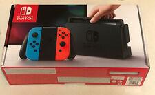 Nintendo Switch Neon Console V1 UK Brand New Unopened