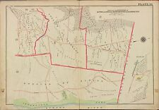 1913 ALPINE CLOSTER NORWOOD HARRINGTON, BERGEN COUNTY, NEW JERSEY COPY ATLAS MAP