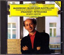 Anatol UGORSKI: MUSSORGSKY Bilder einer Ausstellung STRAVINSKY Petrouchka CD
