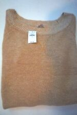 "new GAP  ""Scoop Neck Solid"" Beige L/S Sweater size Large (Orig. $44.95)"