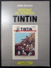Histoire du journal de Tintin Lerman Ed. Glénat EO 1979 TBE