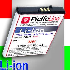 Batteria per NGM pixy pixy4 tipo BL-20 850mah