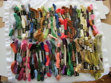 vintage Embroidery Floss/Thread 280+Skeins DMC&J.P.Coats Estate Find