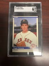 1984 fleer update roger clemens NM 6
