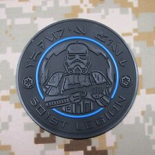 The Thin Blue Line StarWars 501st Legion imperial 3D PVC Patch Dart Vader