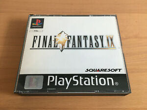 Final Fantasy 9, Palystation, PS1, PS one, Spiel - PAL