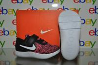 Nike Flex Contact Pre School Girls Running Shoes 917936 001 Pink/Black NIB