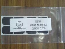 Clarinet Mouthpiece Cushions 0.3mm  Black