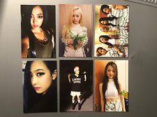 f(x) Red Light Krystal Amber Luna Victoria Sulli Photocard