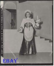 Judy Garland costume test 1947 RARE Photo