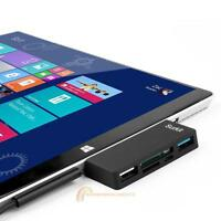 High Speed USB 3.0 Transport HUB Adapter/Card Reader for Microsoft Surface Pro